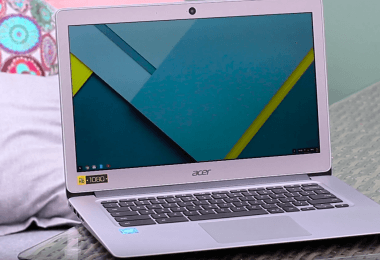 Test de l'acer chromebook 14