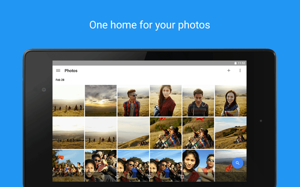 Google Photos sur chromebook