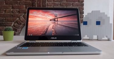 Asus chromebook C302 vu de face