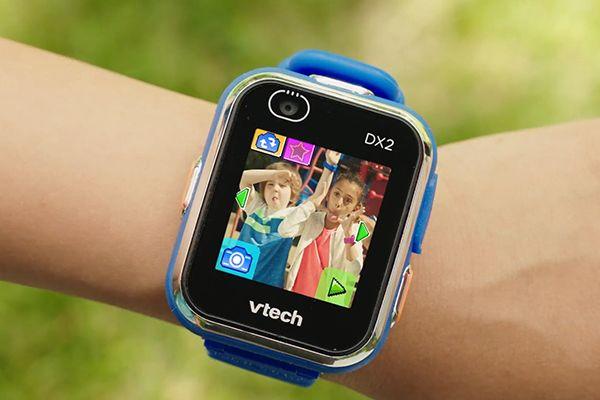 Montre VTech Kidizoom Smartwatch Connect DX2 bleue