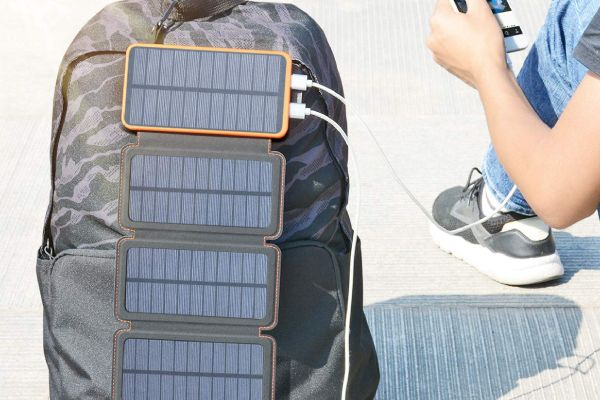 Hiluckey Solar Charger