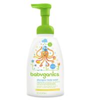Babyganics shampoo and body wash
