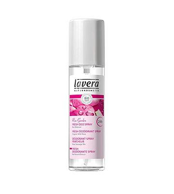 Lavera Déo Spray à la Rose Sauvage Bio (75 ml)