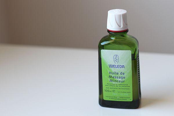 Aceite de masaje adelgazante de abedul Weleda