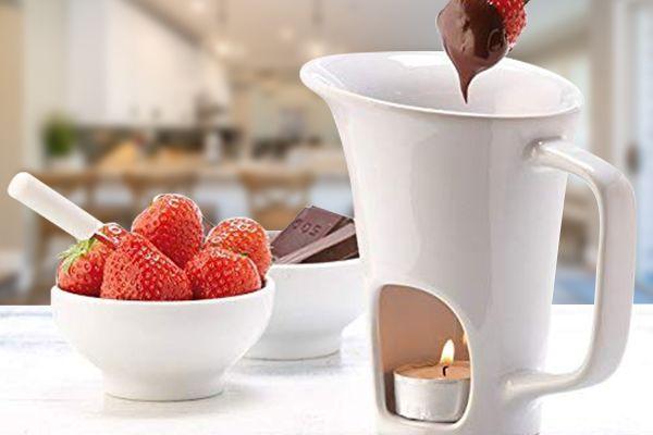 La fondue au chocolat de chez NoTrash2003