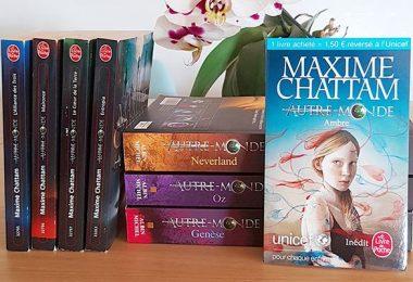 La saga Autre-Monde, de Maxime Chattam