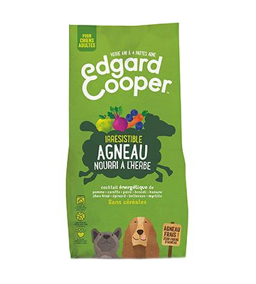 Edgard and Cooper Irrésistible Agneau (12 kg)