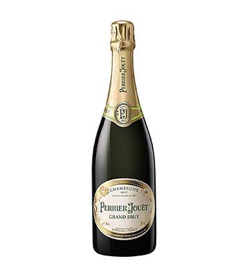 Le champagne Grand Brut de chez Perrier-Jouët
