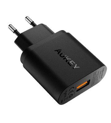 Le chargeur avec Quick Charge 3.0 de chez Aukey
