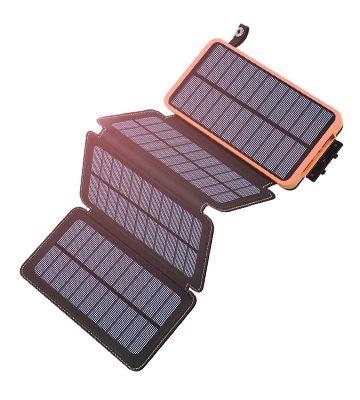Le chargeur solaire de chez Hiluckey