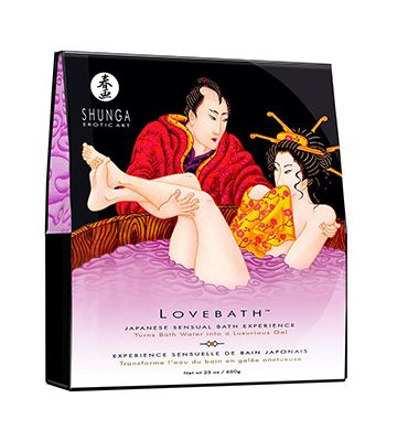 Le gel de bain de chez Shunga Érotic Art