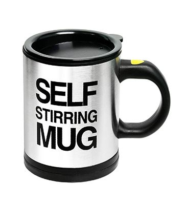 "Le mug ""self-stirring"" de Chuzy Chef"