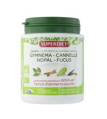Cuarteto SuperDiet Gymnema Glucemia