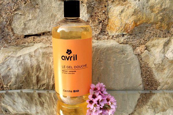 Gel douche bio à l'abricot et amande de Avril