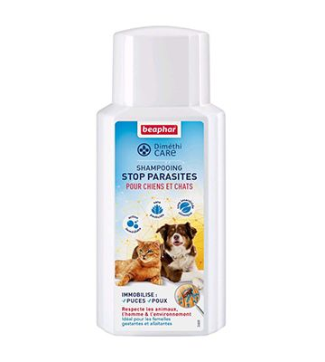 Beaphar DiméthiCare Shampooing Stop Parasites