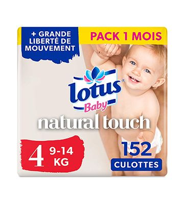 Lotus Baby Touch (pack de 4 x 36 couches)