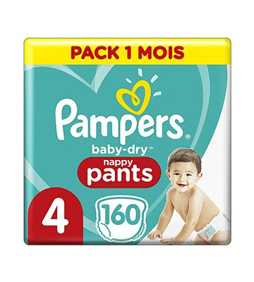 Pampers Baby Dry (160 couches)
