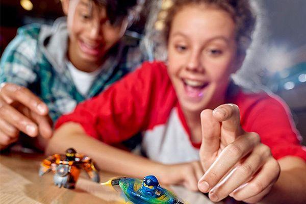 La toupie Lego Spinjitzu Zane