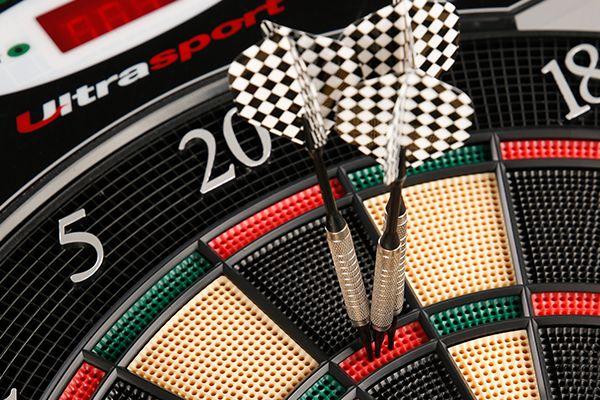 Ultrasport Dartboard with Doors
