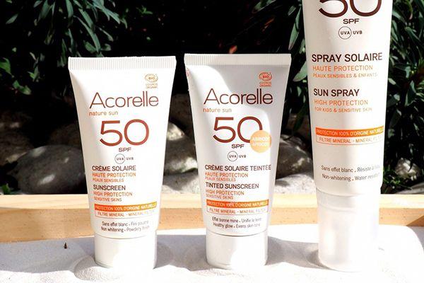 Acorelle Spray Solaire Haute Protection SPF50