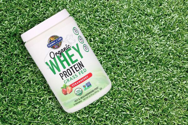 Garden of Life Organic whey protein Grass-Fed