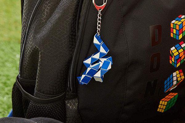 Le porte-clés Rubik's Cube Snake