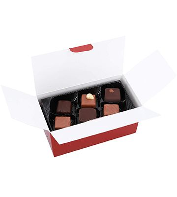 Assortiment de chocolats BioÉquitable Chevaliers d'Argouges