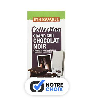 Chocolats Noirs Grand Cru Bio - Ethiquable