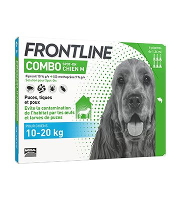 Frontline Combo Spot-on Chiens (6 Pipettes)