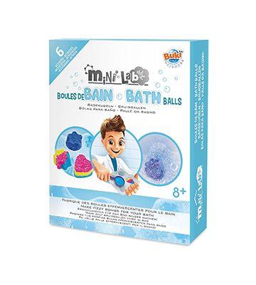 Le mini lab bombes de bain de chez Buki