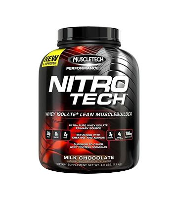 Serie Nitro-Tech MuscleTech Performance (1,80 kg)