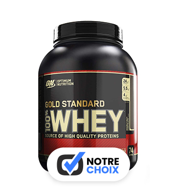 Optimum Nutrition Gold Standard 100% whey protein (2,27 kg)