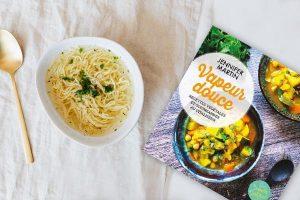 Vapeur douce Recettes végétales et gourmandes au vitaliseur Jennifer Martin