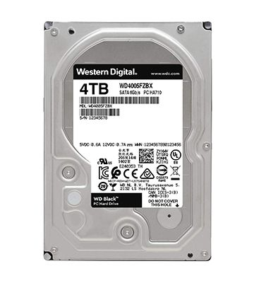 WD Black (4 To)