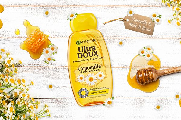 Garnier Ultra-Doux Camomille & Miel de Fleurs