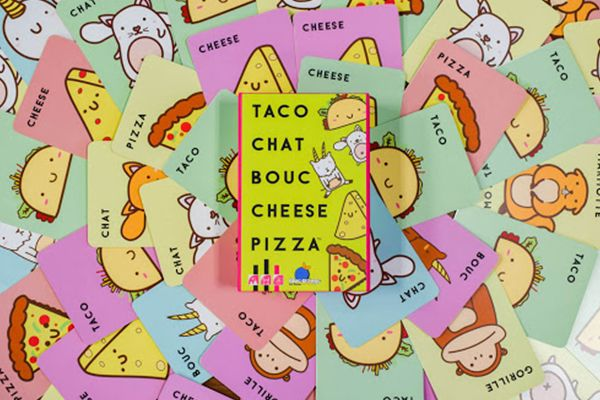 Taco Chat Bouc Cheese