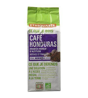 Arabica Bio et Équitable Honduras, de Ethiquable