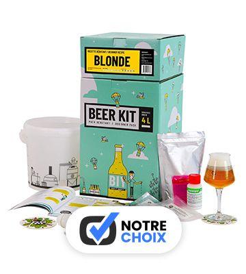 Beer Kit Débutant Complet - Bière blonde