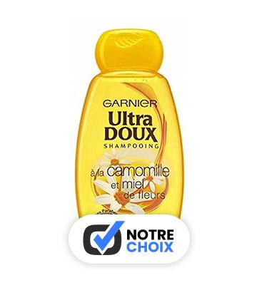 Garnier Ultra-Doux Camomille et Miel de Fleurs (4 x 250 ml)