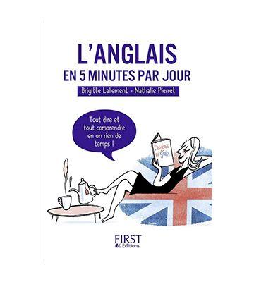 L'anglais en 5 minutes par jour, de Nathalie Pierret et Brigitte Lallement (2002)