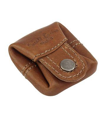 Le mini porte-monnaie en cuir de chez Gusti