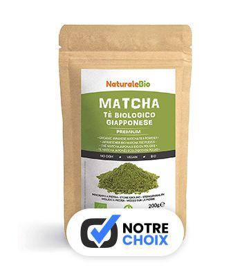 Matcha Bio Japonais, de NaturaleBio (200 g)