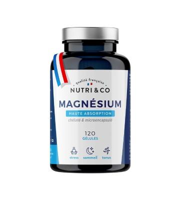 Nutri and Co Magnésium Haute Absorption (120 gélules)