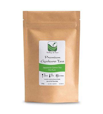 Thé vert japonais Gyokuro, de Valley of Tea (100 g)