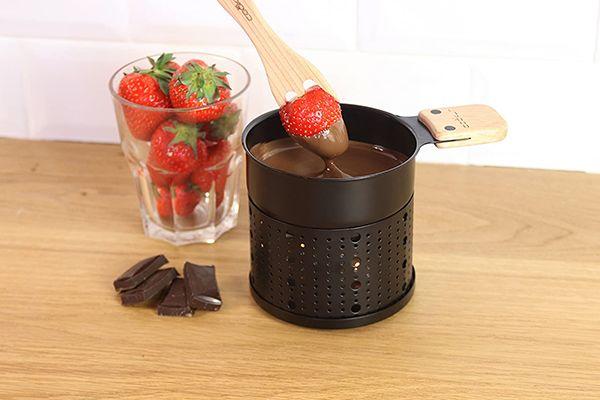 La fondue au chocolat de Cookut
