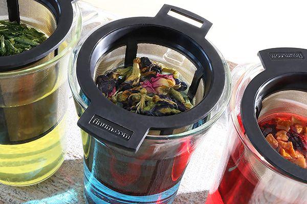 Le filtre réutilisable pour thé & café de chez Finum