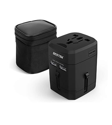 Bestek Worldwide Travel Charger All-in-One Adaptor