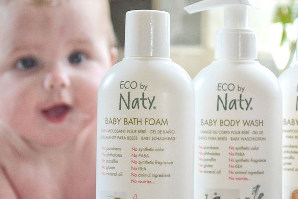 Eco by Naty baby body wash