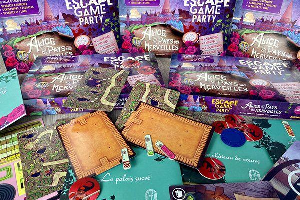 Escape Game Party Alice au pays des Merveilles