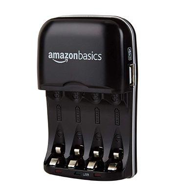 AmazonBasics Chargeur de piles